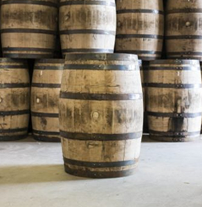 used-boutbon-barrels